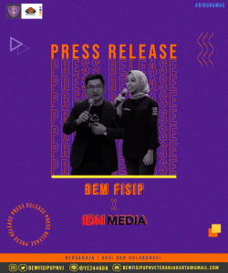 [PRESS RELEASE] IDN Media X BEM FISIP UPNVJ